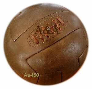 Antique Soccer Balls Replica Leather Football Vintage Footballs