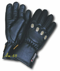 lined Winter motorcycle gloves
