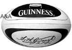 GUINNESS RUGBY BALL
